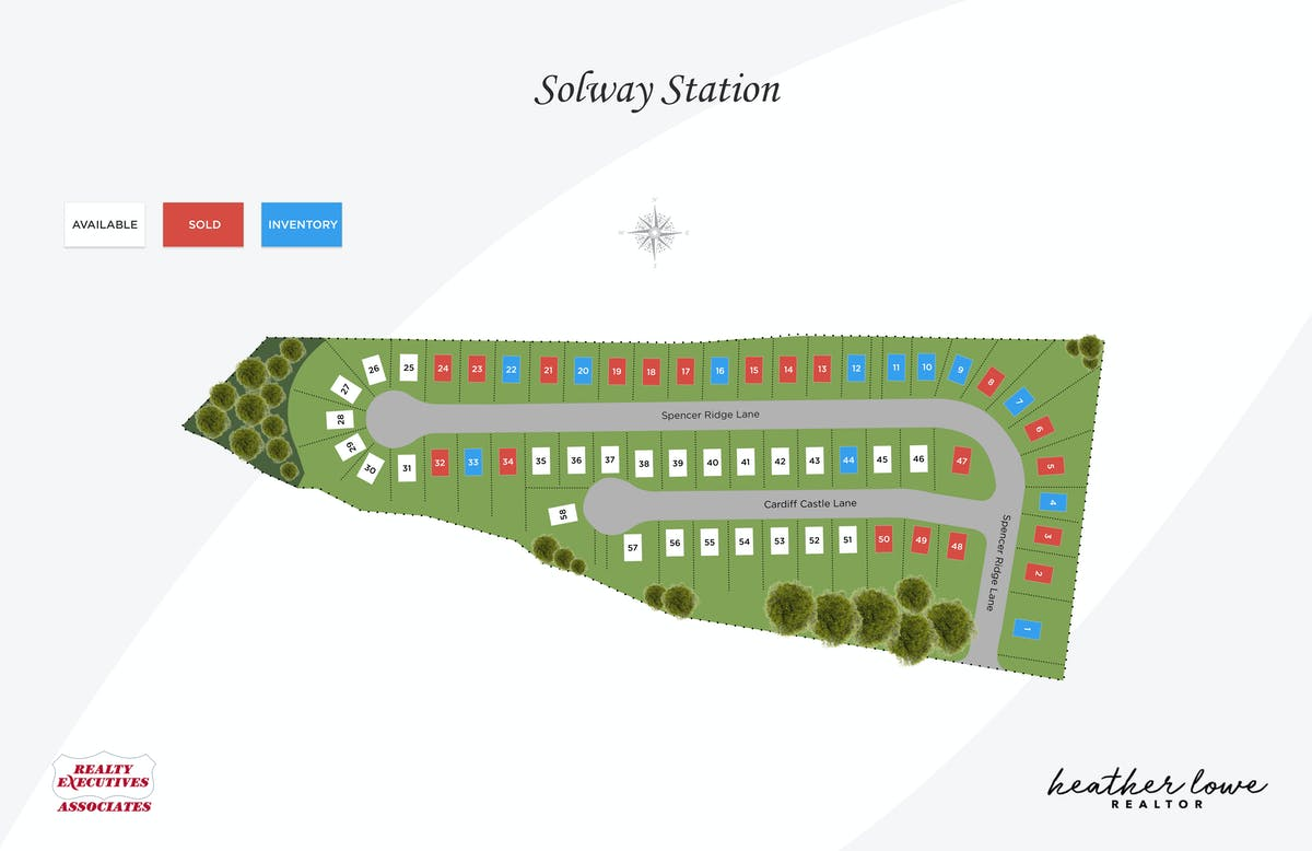 Solway Station Plat Map