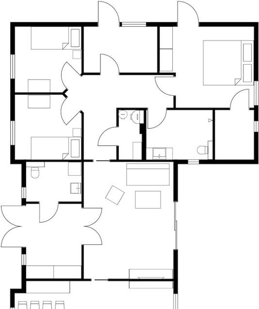Arlington Floor Plan for Sale - 2D Floor Plans 4