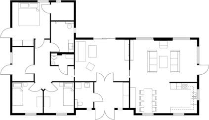 Arlington Floor Plan for Sale - 2D Floor Plans 3