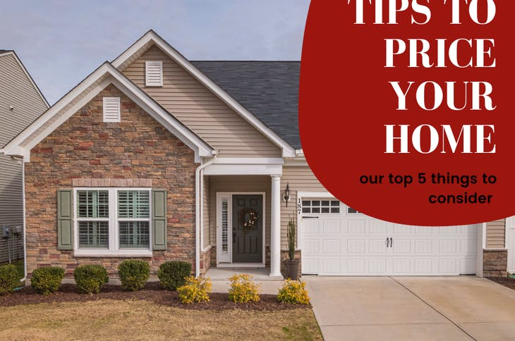 5 Tips to set price for your home to sell